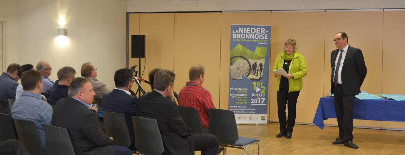 Signature des conventions de partenariat pour la Niederbronnoise  2