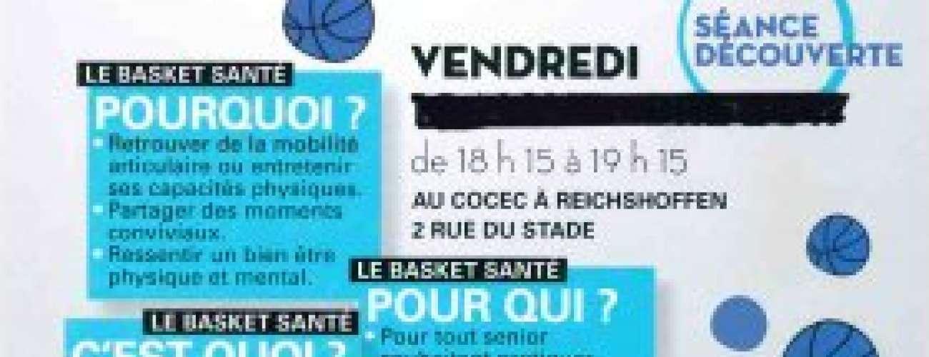 Basket santé pour les senior