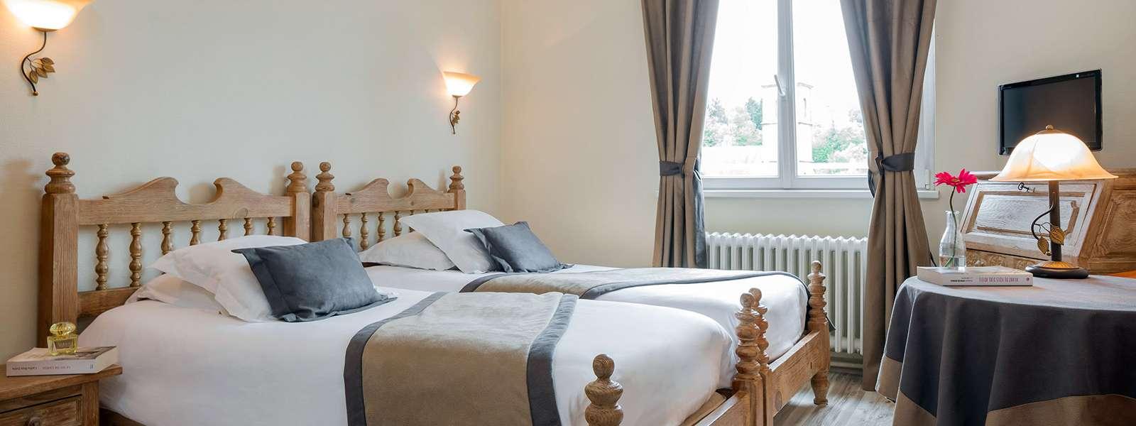 Hôtel Le Bristol, Niederbronn-les-Bains, Alsace, chambre confort