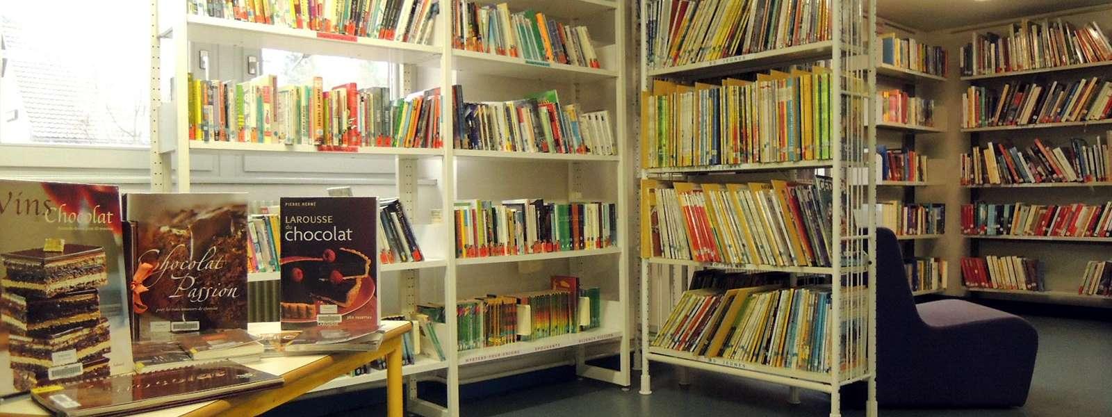 Bibliothèque, Niederbronn-les-Bains, Alsace