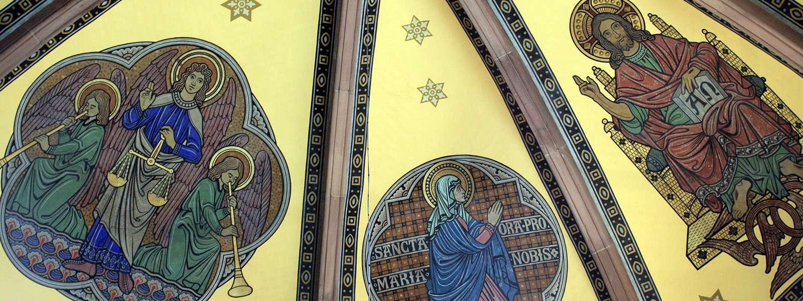Découverte iconographique de l'église St Martin, Niederbronn-les-Bains