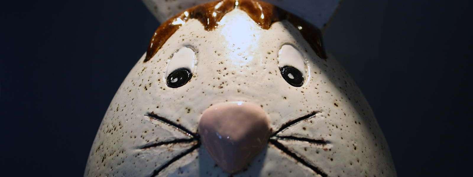 Exposition Artisa'Pâques, céramiques artisanales de Delphine Picamelot, Niederbronn-les-Bains