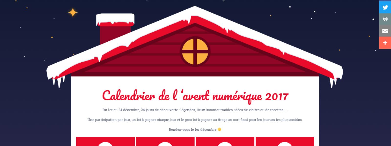 Calendrier de l'Avent numérique, Niederbronn-les-Bains