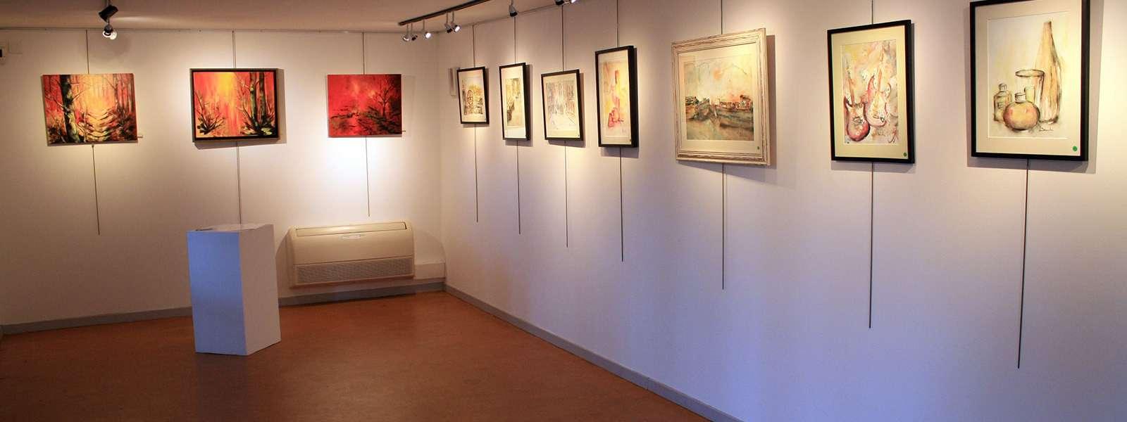 Exposition d'Andrée Barda, Niederbronn-les-Bains