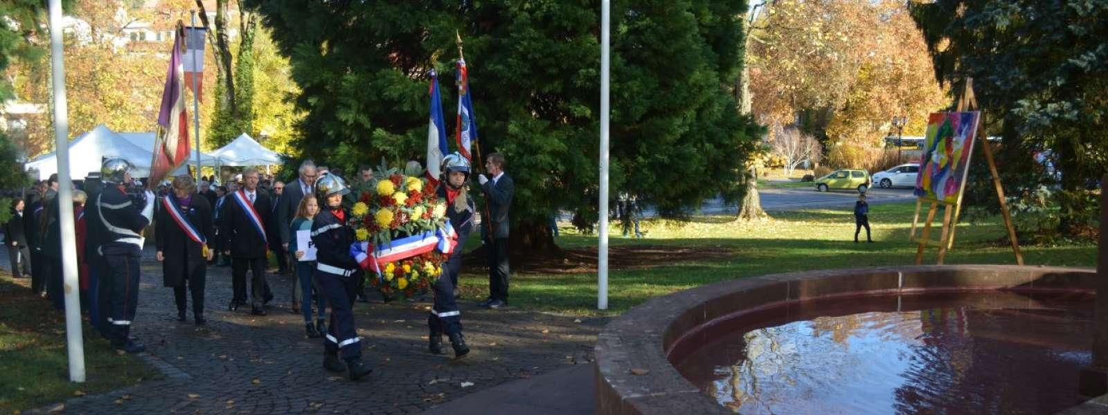 Commémoration du Centenaire de l'Armistice de la Grande Guerre