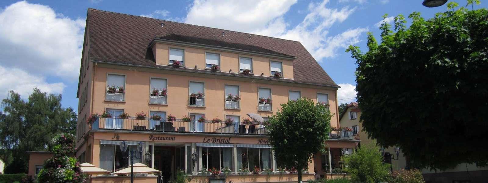 Hôtel Le Bristol, Alsace, vue extérieure