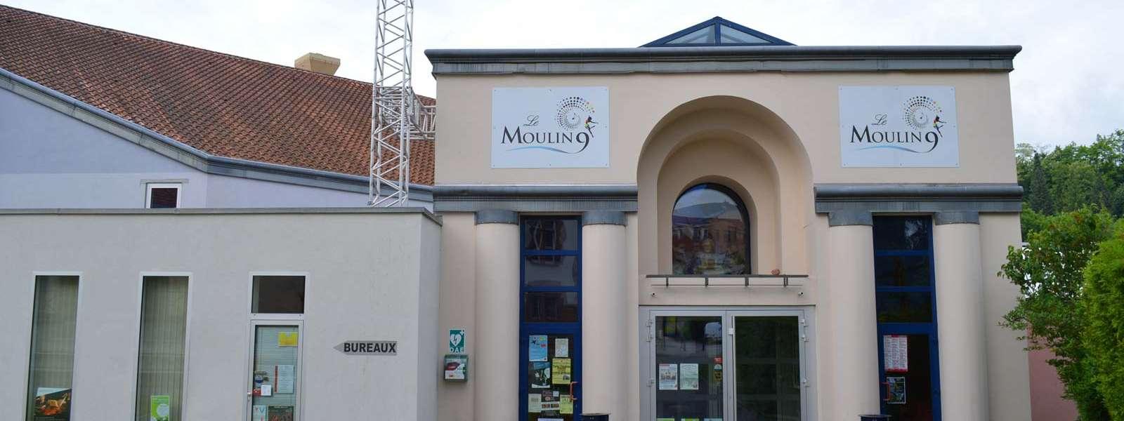 Le Moulin 9, vue extérieure, Niederbronn-les-Bains, Alsace