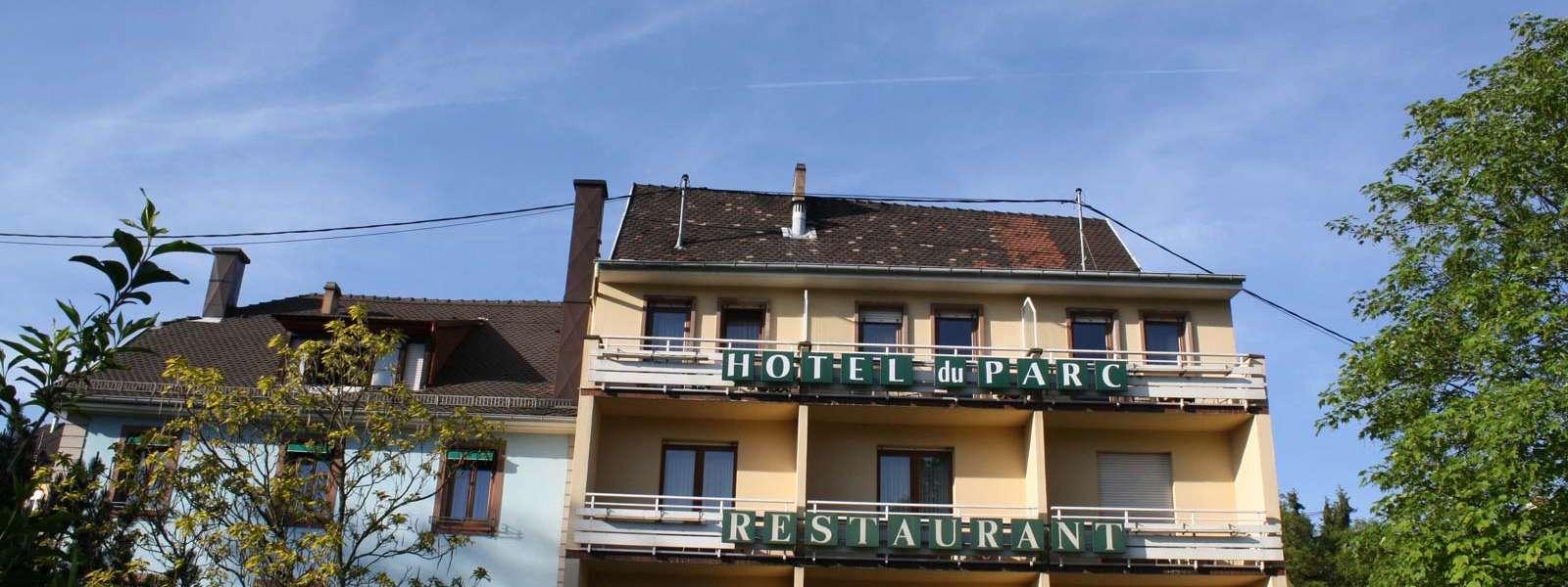 Hôtel du Parc, Niederbronn-les-Bains, Alsace, vue extérieure