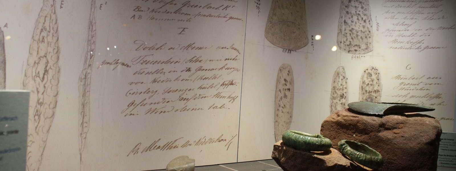 Maison de l'Archéologie, section Préhistoire, Niederbronn-les-Bains, Alsace
