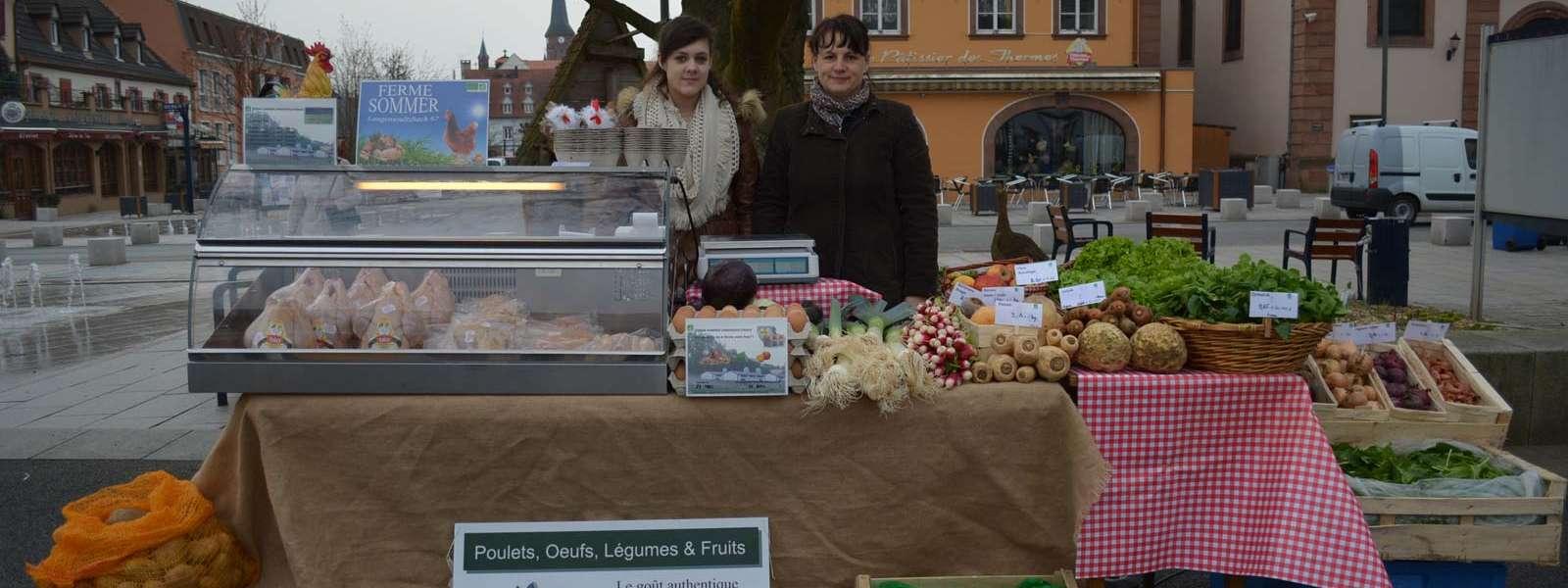 Marché du terroir et des produits équitables, Alsace