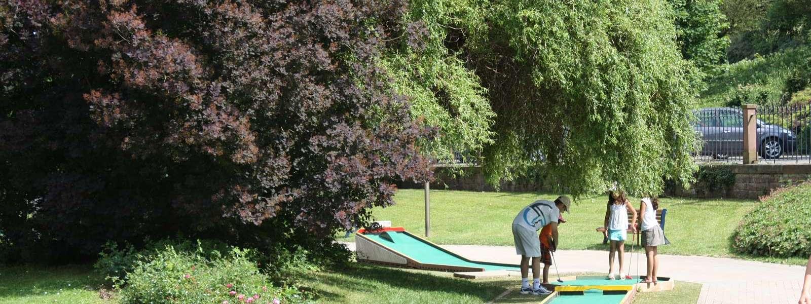 Golf sur piste, 18 trous, Niederbronn-les-Bains, Alsace