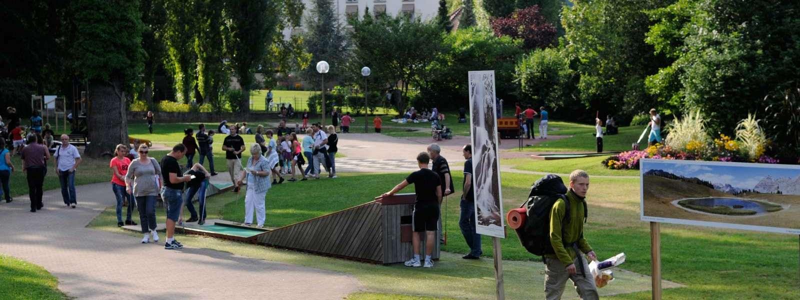 Golf sur piste, Niederbronn-les-Bains, Alsace