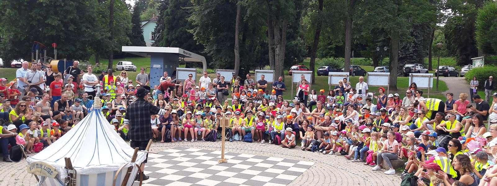 Une semaine de spectacles pour les enfants, Niederbronn-les-Bains, Alsace