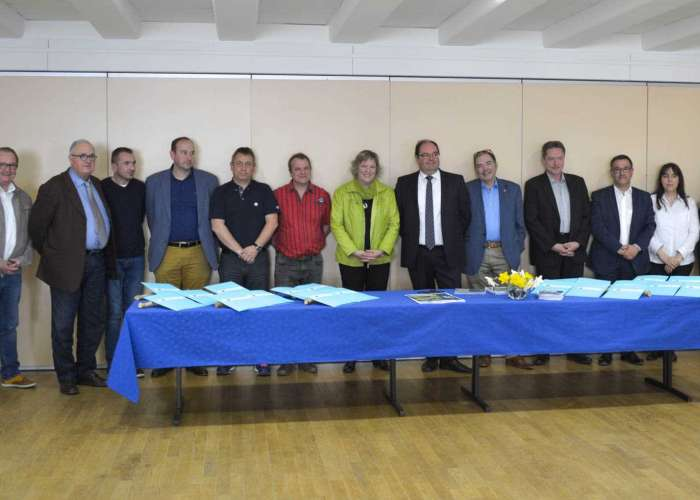 Signature des conventions de partenariat pour la Niederbronnoise