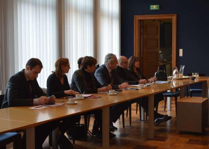 Visite du Président du Conseil départemental du Bas-Rhin
