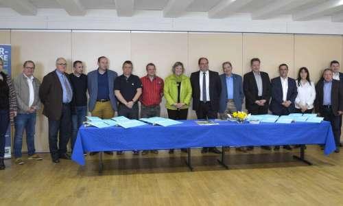 Signature des conventions de partenariat pour la Niederbronnoise  0