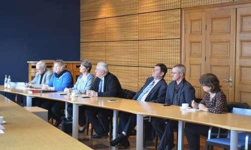 Visite du Président du Conseil départemental du Bas-Rhin  1
