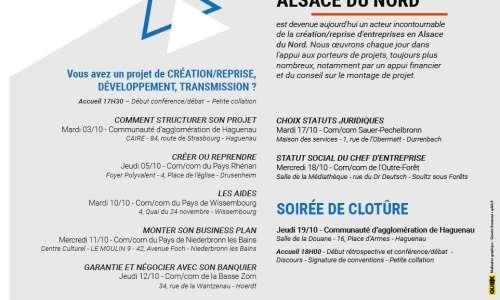 Quinzaine de l'Entreprenariat en Alsace du Nord