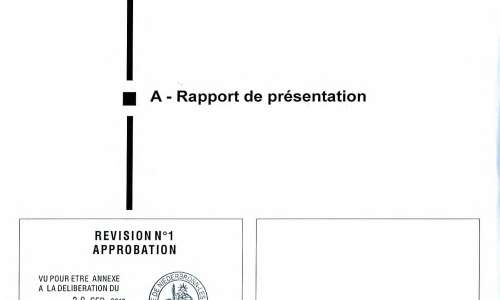Avis d'enquête publique sur le projet de modification du PLU