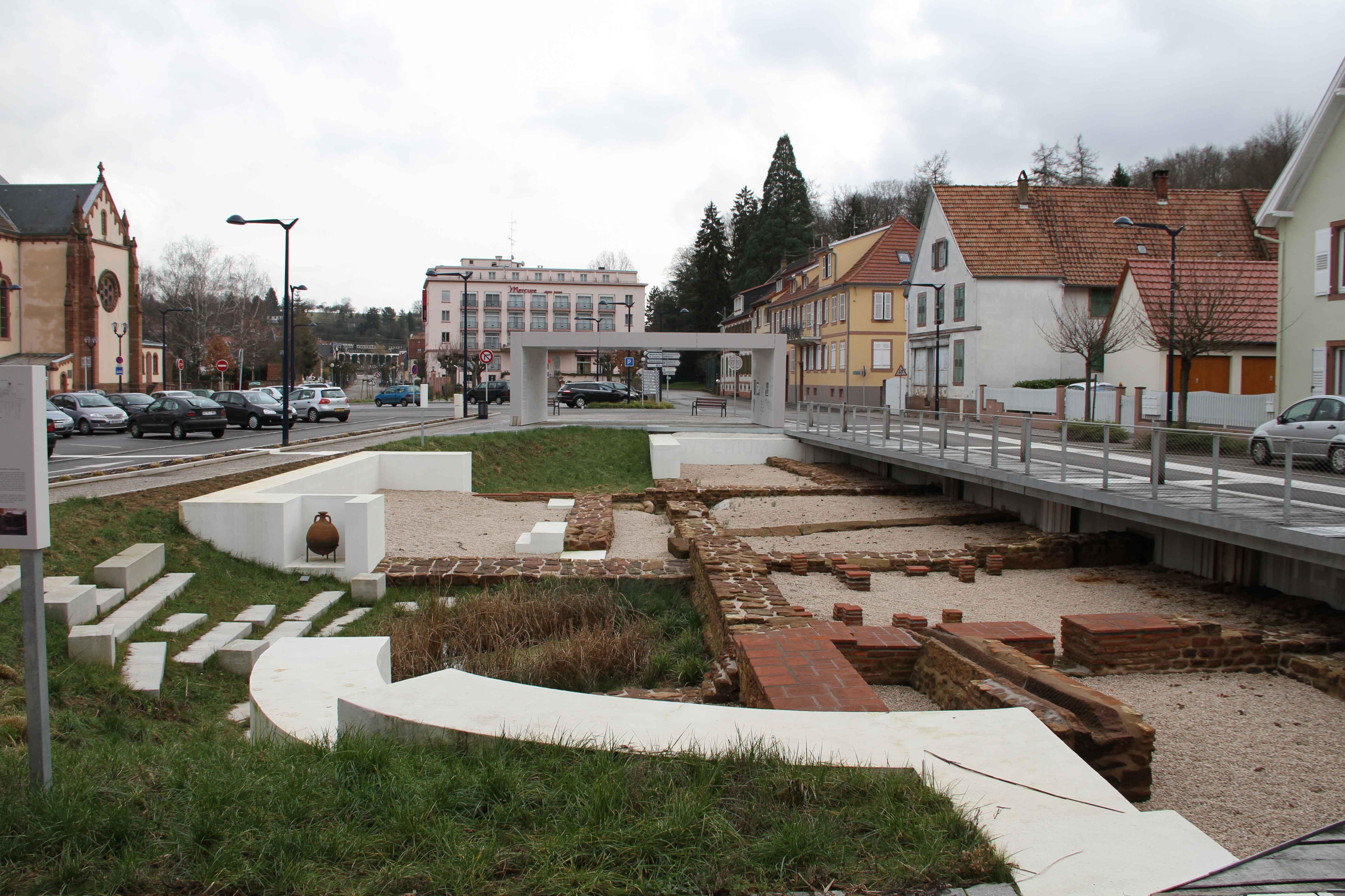 Histoire de niederbronn les bains for Piscine niederbronn