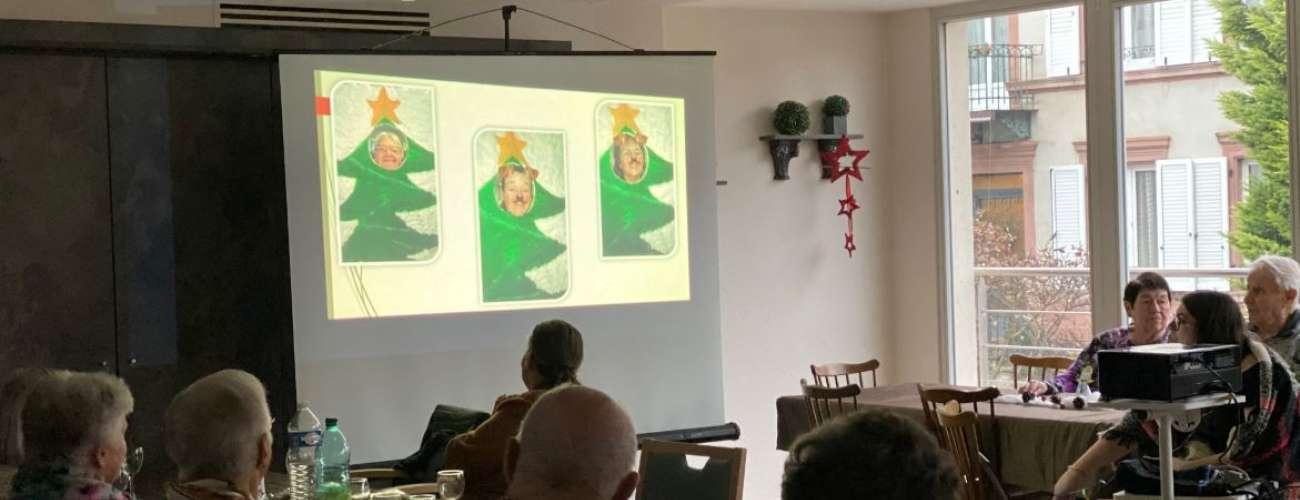 Fête de Noël à l'EHPAD avec les CMJ  4