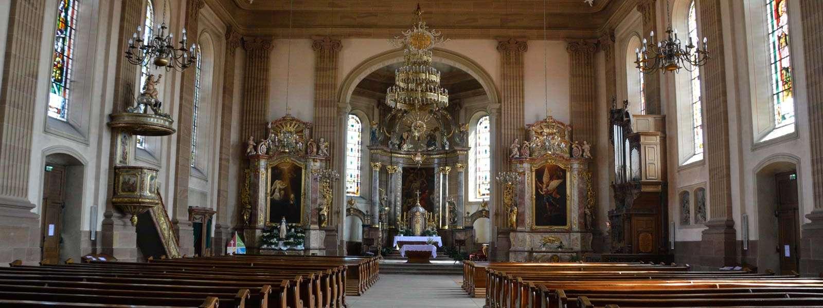 Eglise St Michel, Reichshoffen