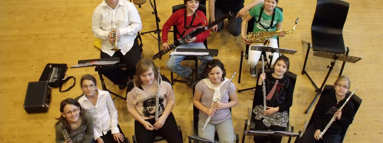 Orchestre des jeunes débutants de l'EMCN