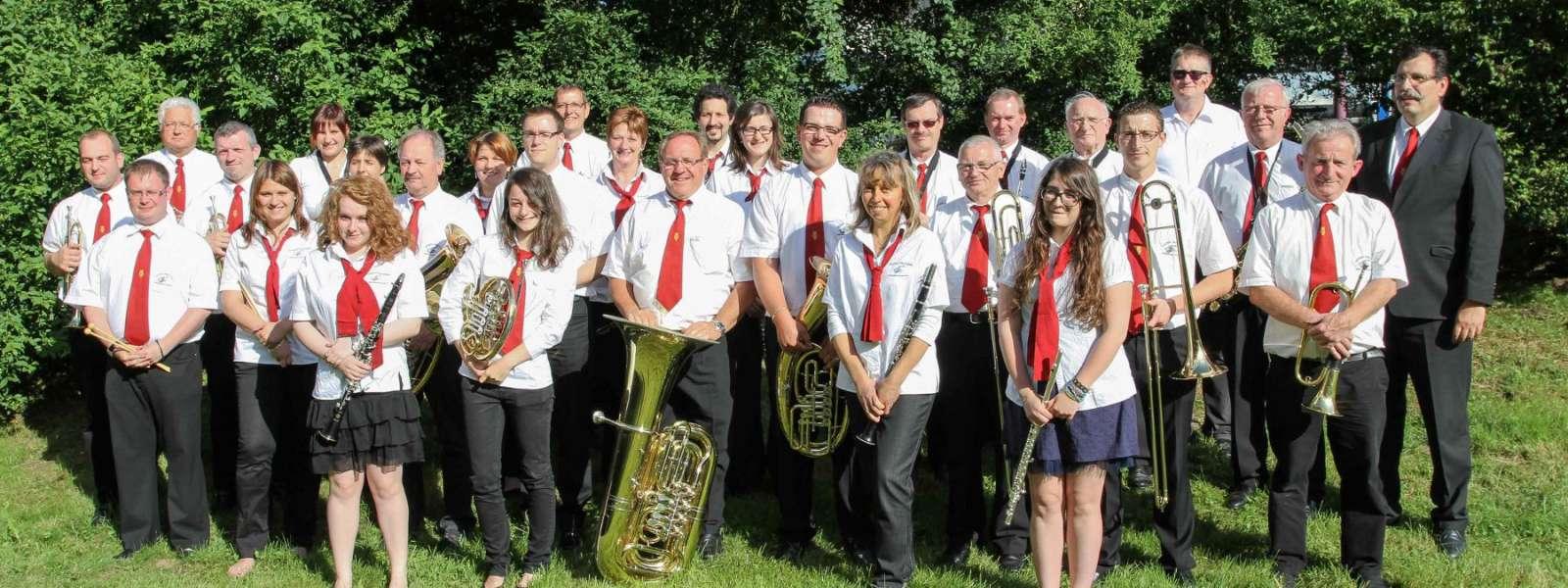 Membres de la Musique municipale