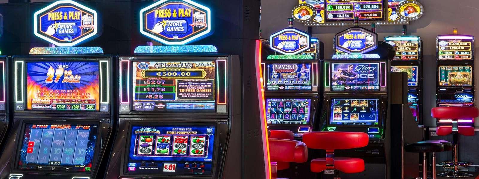 Casino Barrière, machines à sous, Niederbronn-les-Bains, Alsace