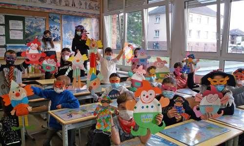 Le Groupe Scolaire Hans Haug fête carnaval