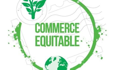 Commerce équitable au marché hebdomadaire
