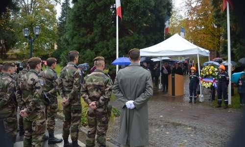 Commémoration de l'armistice  1