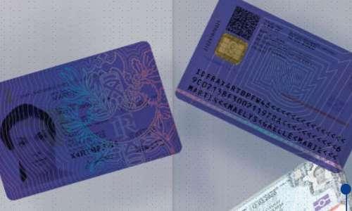 La nouvelle carte nationale d'identité disponible à partir du 31 mai !