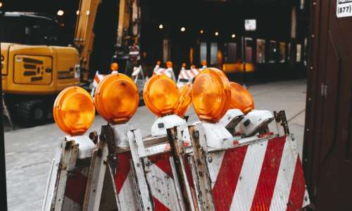 Travaux de rénovation pour l'agence Crédit Mutuel de Niederbronn-les-Bains