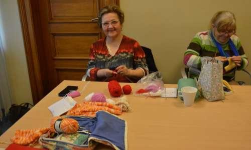 Les tricoteuses du service qualité de vie  0